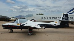 Cessna 318B T-37B-CE Tweet 57-2267 in Tucson (J.Comstedt) Tags: aircraft flight aviation air aeroplane museum airplane us usa planes pima space tucson az cessna 318 t37 usaf 572267