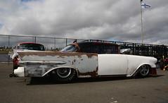 Pontiac Starchief_2737 (Fast an' Bulbous) Tags: racecar drag race strip track pits car vehicle automobile outdoor santa pod nikon d7100 gimp santapod