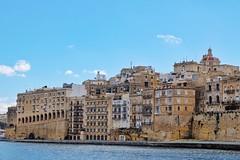 Senglea (Douguerreotype) Tags: church city historic buildings malta architecture urban water