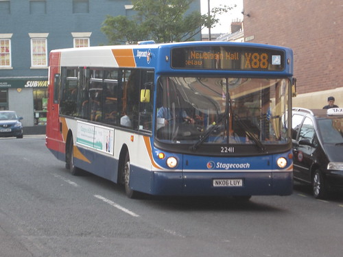 Stagecoach North East 22411 Nk06 Luy Eldon Square Bus Station Newcastle