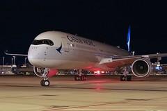 B-LXB, Cathay Pacific, Airbus A350-1041, KIAD, September 2018 (a2md88) Tags: