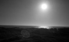 Into the light (Rosenthal Photography) Tags: dänemark 20180801 sonne houvig asa200 nordsee epsonv800 ff135 strand urlaub dünen meer ilfordlc2912920°c11min schwarzweiss rotfilter olympus35rd analog infrarot landscape seascape sea northsea mood july summer sun clouds deach dunes blackandwhite infrared olympus olympus35 35rd fzuiko zuiko 40mm f17 ilford sfx sfx200 filter redfilter lc29 129 epson v800 light