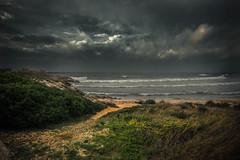 Before the storm (armandocapochiani) Tags: storm seascape landscape sly clouds dramatic dark sea sand waves taranto italy puglia mare salento lido bruno