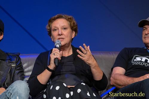 FUERTH, Germany - September 22nd 2018: Susanna Bonaséwicz at Noris Force Con 5