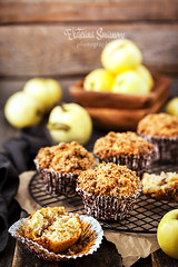 Fresh homemade delicious apple and cinnamon crumble muffins (Katty-S) Tags: baked bakery biscuits breakfast brown cake crumble crunchy apple cinnamon cupcake delicious dessert fluffy food fresh fruit gourmet homemade lunch morning muffin oat party pastry rustic simple snack sugar sweet tasty treat wooden