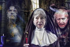 The Convent Ghosts (Daniel Arrhakis) Tags: humor politics britain europe brexit
