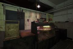 Butcher's Shop (1) (ShapesIndustries.com) Tags: hauntedbasement spooky halloween underground fear evil sets scenes stages displays exhibit attraction experience theater dark