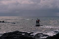 Pescadores (jjalcalat) Tags: colombia bahia solano choco ballenas playa el almejal la cuevita larga jorobadas atardecer sunset sunrise pescadores pacifico travel