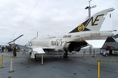2018-090357B (bubbahop) Tags: 2018 amtraktrip sandiego california usa ussmidway cv41 museum aircraftcarrier flight deck ship navy phantom fighter jet