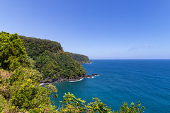 Coastline Maui Hawaii Road to Hana
