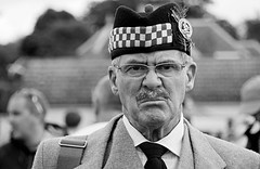Face in the crowd No 13b. (Robertinsco) Tags: scotland candidphotography candidstreetphotography candidportrait candidmonochrome blackwhite blackandwhite blackwhitephoto blackwhiteportrait gx8 lumixgvario45150f4056