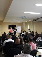 27/09/18 - Visita ao Hospital Pompéia de Caxias do Sul. Recebida pelo superintendente Francisco Ferrer e pelo diretor Gilberto Uebel.