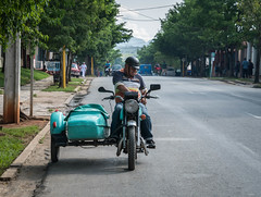 Motorcycle and Sidecar in Viñales, Cuba (ChrisGoldNY) Tags: chrisgoldphoto chrisgoldny chrisgoldberg cuba cuban caribbean latinamerica licensing forsale cubano bookcover albumcover travel viajes sony sonyimages sonya7rii sonyalpha