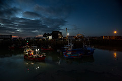 last one in....lights out (stocks photography.) Tags: michaelmarsh whitstable photographer photography harbour seaside coast fullonreverse trawler fish fishing boat dusk lowlightphotography
