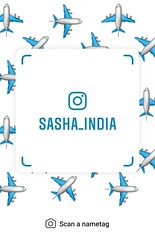 example of nametag for Instagram (Sasha India) Tags: instagram nametag instatag tag name sashaindia дизайн qrcode design 設計 디자인 التصميم σχέδιο डिज़ाइन வடிவமைப்பு desenhar projekt עיצוב desain flight