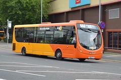 Transdev Rosso Wrightbus 611 SN64CTY - Bury (dwb transport photos) Tags: transdev rosso wrightbus streetlite 611 sn64cty bury