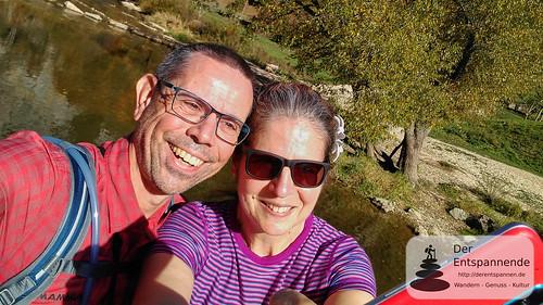 Frank und Manuela an der Donau