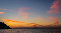 Sunset View (Mount Athos in the distance) (Myrina Town - Limnos - Greece) (Olympus OM-D EM1-II & Leica Summilux 15mm f1.7 Prime) (1 of 1) (markdbaynham) Tags: greece greek limnos lemnos sunset cloud sky seascape landscape sea colour myrinatown castle myrinacastle greekisland omd em1 em1ii em1mk2 mft mirrorless m43 m43rd micro43 olympus olympusem1 leica 15mm summilux prime primelens micro43rd grecia greka hellas hellenic greekaegean greeksunset