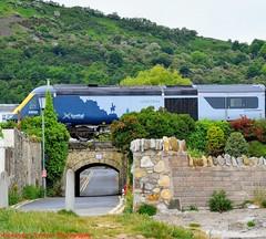 43033 @ Burntisland (A J transport) Tags: 43033 hst class43 powercar mtu16v4000 diesel locomotive scotrail 7cityslivery scotland railway trains