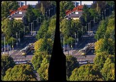 Ackermannstraße / Zellscher Weg 3-D / CrossView / Stereoscopy / HDRi (Stereotron) Tags: saxony sachsen dresden elbflorenz strasenbahn tram aerial luftbild deutschland germany europe cross eye view xview crosseye pair free sidebyside sbs kreuzblick bildpaar 3d photo image stereo spatial stereophoto stereophotography stereoscopic stereoscopy stereotron threedimensional stereoview stereophotomaker photography picture raumbild hyperstereo twin canon eos 550d remote control synchron sigma zoom lens 70300mm 100v10f tonemapping hdr hdri raw