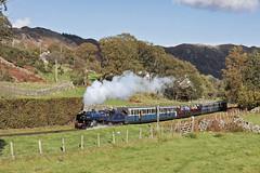 In Cumbrian scenery (EltonRoad) Tags: whillanbeck steam train railway line ravenglass eskdale narrowgauge preserved ratty cumbria lakedistrict longyocking irtonroad eskdalegreen