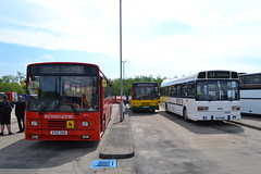 Stagecoach Cumbria & North Lancashire 20712 K712DAO & Leyland National REV01 WHH556S (Will Swain) Tags: lillyhall depot open day 26th may 2018 bus buses transport travel uk britain vehicle vehicles county country england english north west stagecoach group leyland national rev01 whh556s williamsdigitalcamerapics101 cumbria lancashire 20712 k712dao