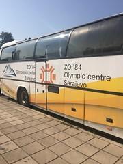 Olympic centre Bus Sarajevo 84 (Michal Kuban) Tags: bosnia hercegovina 2018 bus olympic
