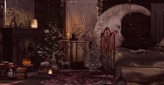 A Yule trip (drayton.miles) Tags: christmas yule decorations decor pretty cabin trip meshsl sl secondlife secondsecondlife house home xmas cute holiday merry set