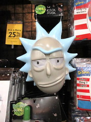 Rick and Morty Masks Halloween Pop Up Store 2917 (Brechtbug) Tags: rick morty masks from animated tv show new york costumes halloween adventure mask store 2018 nyc animatronic display below ground broadway 42nd street costume midtown manhattan 10172018 city ben cooper halco collegeville logos holiday warning villain animation cartoon cartoons