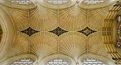 Abbey Ceiling (chabsh123) Tags: bath england abbey ceiling fuji xpro2 lightroom on1