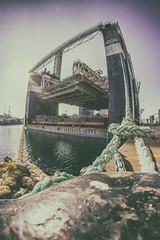 XXIII Maratón Fotográfico de Vigo (sairacaz) Tags: calma inolvidable resistencia múltiple maratón fotografia xxiiimaratónfotográficodevigo canon samyang canon70200mmf4lusm 8mm fisheye ojodepez galicia vigo barco pesca puerto port alfageme bouzas coia