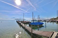 at the Lake (Hugo von Schreck) Tags: hugovonschreck gstadtamchiemsee bayern deutschland canoneos5dsr tamronsp1530mmf28divcusda012 see lake