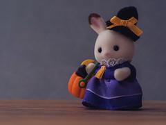 Happy Halloween (Jam-Gloom) Tags: olympusuk olympus olympusomdem5 olympusomd omdem5 omd em5 uk 60mm28 60mmmacro28 60mm 60mmmacro pumpkin halloween hallowseve allhallows halloweve sylvanianfamilies sylvanianfamily