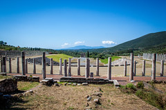 Stadium of Messene (Andy Hay) Tags: 2016 ancientmessene greece gymnasium ithomi lightroom messene messenia stadium messinia peloponnisosdytikielladakeionio peloponnisosdytikielladakeio gr