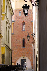 Cafe (Magryciak) Tags: europe 2018 poland travel trip holiday vacation canon eos spring springtime memory detail relax warsaw city street architechture cafe person table chair church oldtown explored inexpolre