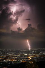 (dapeR Fecto) Tags: thunderbolt rayo chiangmai tailandia thailandia cloudporn sky landscape canon 50mm storm electricstorm electric tormenta tormentaelectrica city night nightphotography asia
