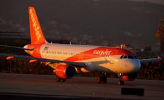 easyJet Europe / Airbus A320-214 / OE-IJP (vic_206) Tags: easyjeteurope airbusa320214 oeijp bcn lebl sunset