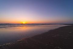 Sunset at the beach in Zandvoort (Jana`s pics) Tags: sunset sonnenuntergang beach strand meer ocean sea northsea nordsee himmel sky colorful farbenfroh mood stimmung evening abend eveningmood abendstimmung