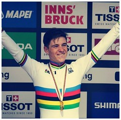 2018 Remco Evenepoel Double World Champion Juniors (Sallanches 1964) Tags: remcoevenepoel worldchampionroadcycling worldchampiontimetrial juniors 2018 roadcycling rainbowjersey belgiancyclists