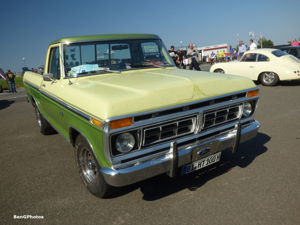 The Worlds Most Recently Posted Photos Of F100 And Ford Flickr 1954 Pick Bengphotos Tags 2018 Brands Hatch Festivalofporsche Classic Car Show Display Green