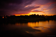 Cloudy sunset 2 (cstevens2) Tags: belgique belgium belgië europe evening flanders flandre kortbroek kruibeeksepolders kruibeke oostvlaanderen polder vlaanderen langesluitertijd longexposure sunset zonsondergang