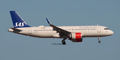 LN-RGL SAS A320 NEO (john smitherman-http://canaviaaviationphotography.) Tags: lnrgl sas pmi lepa plane planespotting palma fly flight flug flughafen aviation aircraft airliner airplane airbus aeroplane airport c canon 1dmk4 100400l jet balearicislands majorca mallorca a320 airbusa320 scandinavian a320neo neo landing