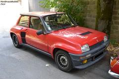 Renault 5 Turbo 2 (Monde-Auto Passion Photos) Tags: voiture vehicule auto automobile renault r5 turbo turbo2 petite little red rouge sportive rare rareté ancienne classique collection france barbizon