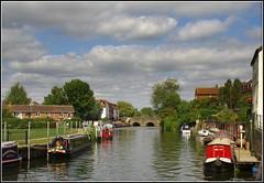 Tewkesbury (Lotsapix) Tags: tewkesbury gloucestershire river riversevern water boats boat narrowboat