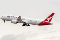 Off to Perth (Ychocky) Tags: 150500mmf563 boeing7879dreamliner egll lhr londonheathrow qantas sigma vhzne
