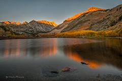 Morning Glow, North Lake (FollowingNature (Yao Liu)) Tags: reflection lake highway395 easternsierra bishop fallcolors aspen mountain morningglows northlake followingnature