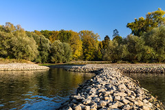 20181015-K32E7529 (AldAsAck1957) Tags: rhine karlsruhe germany low water sunset fall colour