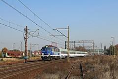 EP07-537 am IC 18101 in Krzyż (PL) (M. Eisenmann) Tags: elok pkp intercity ep07