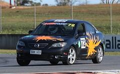 Mazda 3 (Runabout63) Tags: mazda 3 lemon mallala
