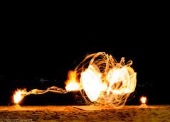Thailand, Koh Samui (Rickard Brandt) Tags: fire show thailand koh samui night